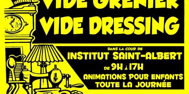 Affiche Vide-grenier Saint-Albert 2013