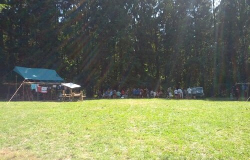 Camp scout Erezée 2013
